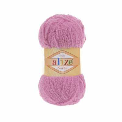 Пряжа Alize Пряжа Alize Softy Цвет.191 Темно розовый