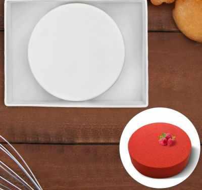 2854644 Форма для выпечки и муссовых десертов  Круг , цвет белый - Формы для выпечки