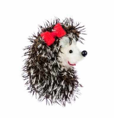 Набор для изготовления игрушки Перловка ПМЕ-1451 Брошка ежик- игрушка (Перловка)