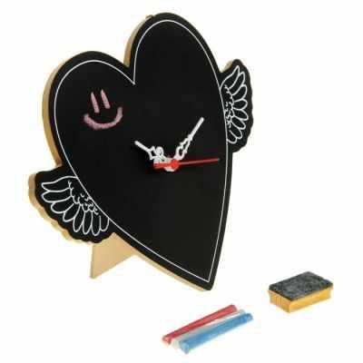 836798 Часы настольные для рисования Сердце