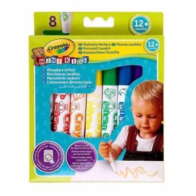 2009851 Набор смывающихся фломастеров для малышей