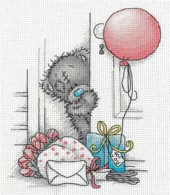 Набор для вышивания Кларт MTY-8-265 Tatty Teddy с подарками набор белого картона action tatty teddy a4 8 листов bnf awp 8 8 в ассортименте