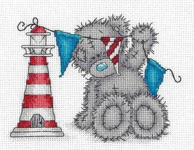 Набор для вышивания Кларт MTY-8-266 Tatty Teddy с маяком набор белого картона action tatty teddy a4 8 листов bnf awp 8 8 в ассортименте