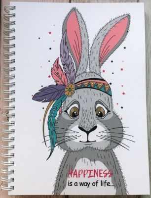 Книга Bunny Планер Зайчик