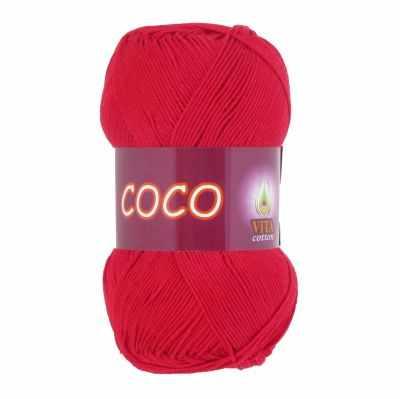 Пряжа VITA Пряжа VITA Coco Цвет.3856 Красный