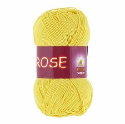 Пряжа VITA Пряжа VITA Rose Цвет.3916 Светло-желтый