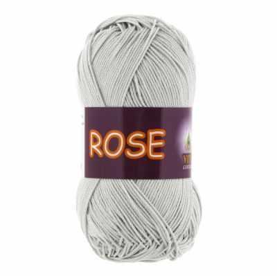 Пряжа VITA Rose Цвет.3939 Серебро