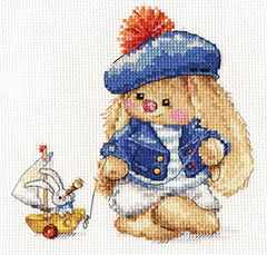 0-180 Зайка Ми. Моряк - Наборы для вышивания «Алиса»