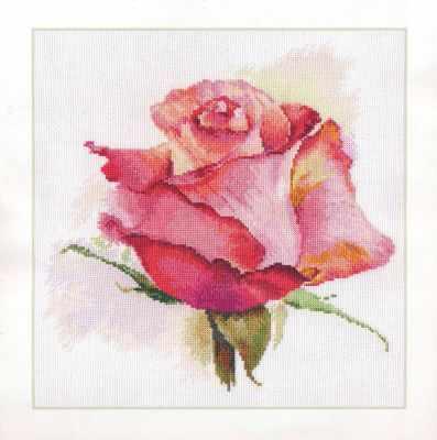 2-39 Дыхание розы. Очарование - Наборы для вышивания «Алиса»