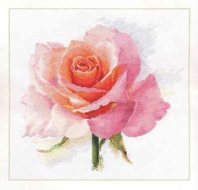 2-40 Дыхание розы. Нежность - Наборы для вышивания «Алиса»