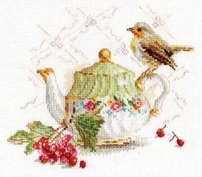 5-19 Нечаянная гостья - Наборы для вышивания «Алиса»