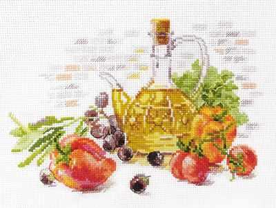 5-20 Оливковый натюрморт - Наборы для вышивания «Алиса»