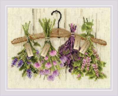 1717  Пряные травы  - Наборы для вышивания «Риолис»
