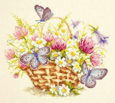 40-80 Летнее настроение - Наборы для вышивания «Чудесная игла»
