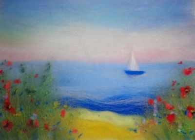 1246728 Набор для создания картины Море-Amore