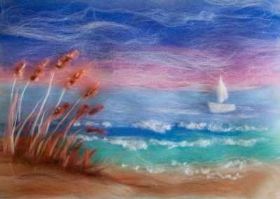 1246735 Набор для создания картины Морской берег