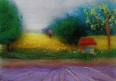 1246740 Набор для создания картины Прованс