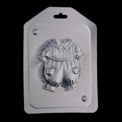 """2787234 Пластиковая форма для мыла """"Костюмчик для мальчика"""""""