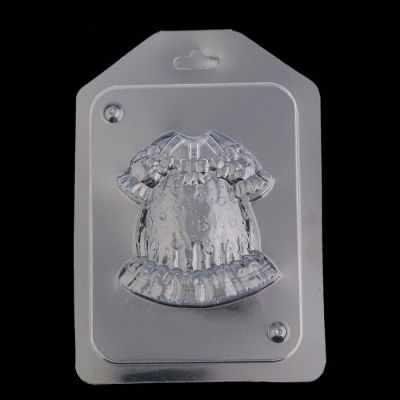 """2787241 Пластиковая форма для мыла """"Платье для девочки"""""""