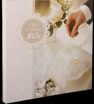 Фотоальбомы и фоторамки - 2805094 Фотоальбом магнитный 15 листов свадебный