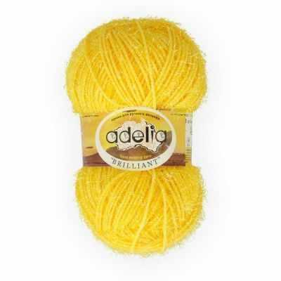 Пряжа Adelia Пряжа Adelia Brilliant 03 жёлтый пряжа adelia пряжа adelia brilliant 12 бежевый