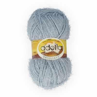 Пряжа Adelia Пряжа Adelia Brilliant 11 серый пряжа adelia пряжа adelia brilliant 12 бежевый
