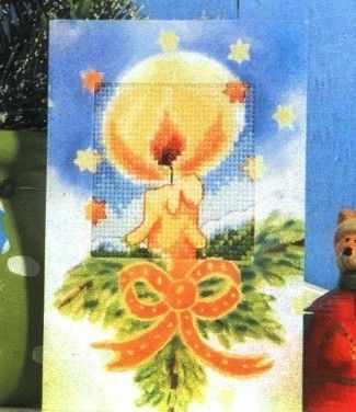Набор для вышивания ORCHIDEA OR 6209 Новогодняя свеча