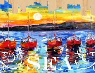 DER002 Ласковое море - Раскраски по номерам «Color Kit»