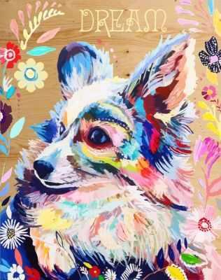 DER022 Цветочная радость - Раскраски по номерам «Color Kit»