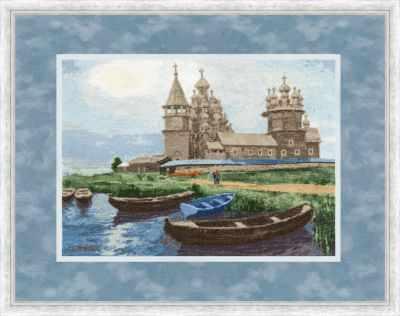 Фото - Набор для вышивания Золотое Руно РП-13 Кижи. Северная сказка кижи набор из 16 открыток