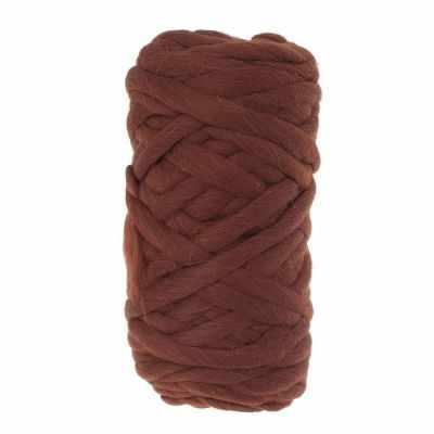 Купить со скидкой Пряжа Камтекс Super толстая Цвет.63 Шоколад