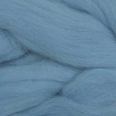 Пряжа Камтекс Пряжа Камтекс Лента для валяния Цвет.15 Голубой
