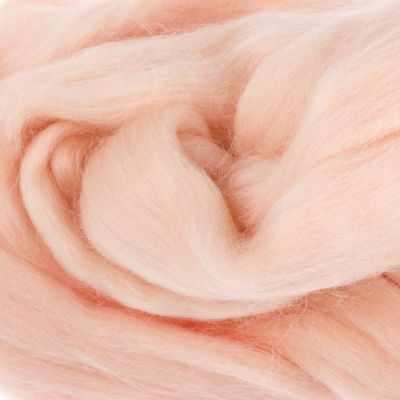 Пряжа Камтекс Пряжа Камтекс Лента для валяния Цвет.192 Чайная роза