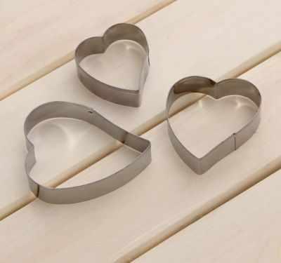 1685210 Набор форм для вырезания печенья Сердце