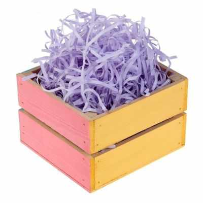 Наполнитель для подарочной коробки - 2797029 Наполнитель бумажный фиолетовый, 50 гр