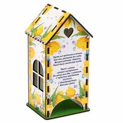3314402 Чайный домик «Жёлтые тюльпаны» - Декор для кухни