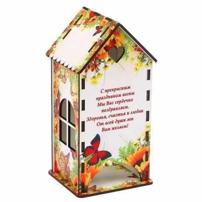 3314403 Чайный домик «Цветы и бабочки» - Декор для кухни
