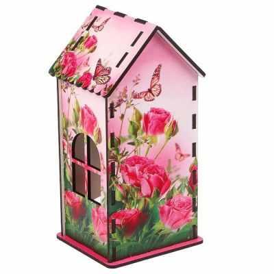 3314404 Чайный домик «Розы и бабочки» - Декор для кухни