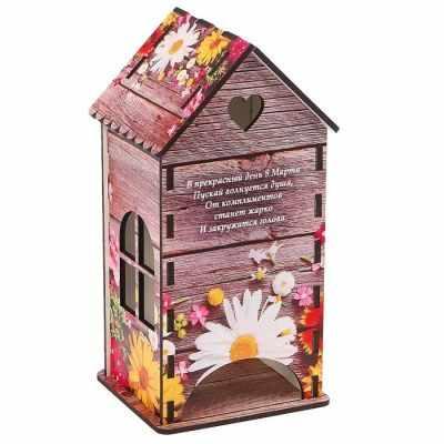3314406 Чайный домик «Весенние цветы» - Декор для кухни
