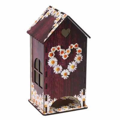 3314408 Чайный домик «Сердце из ромашек» - Декор для кухни