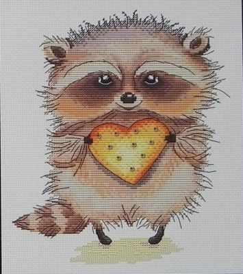 Фото - Набор для вышивания Татьяна Amity Кому печеньку? - набор набор для вышивания татьяна amity снежный шпиц набор