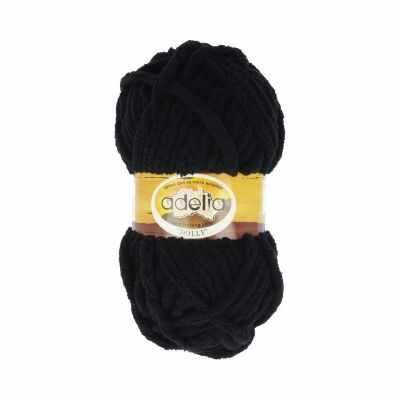 Пряжа Adelia Dolly 02 черный