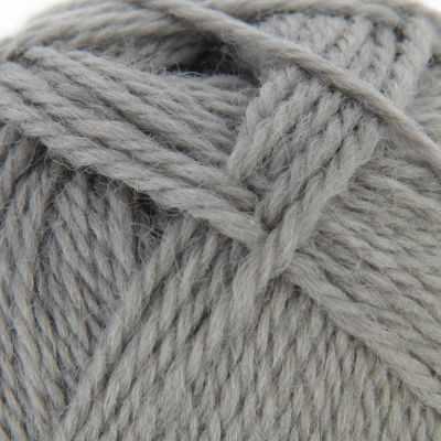 Пряжа Троицкая Новозеландская Цвет.0439 серый