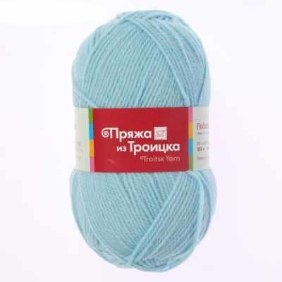 Пряжа Троицкая Пряжа Троицкая Подмосковная Цвет.0276 бледно-голубой