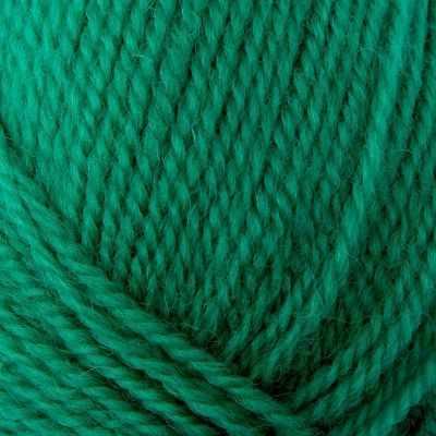 Пряжа Троицкая Пряжа Троицкая Чистая шерсть Цвет.0753 Зеленая бирюза