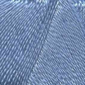 Пряжа Троицкая Шелковый блеск Цвет.2820 Воздушно-голубой