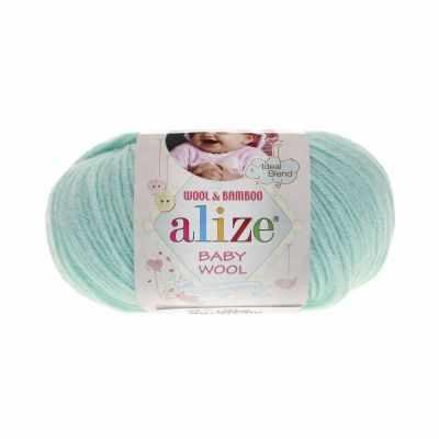 Пряжа Alize Пряжа Alize Baby Wool Цвет.19 Айсберг