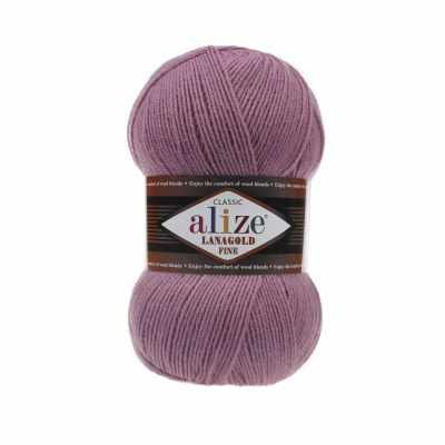 Пряжа Alize Пряжа Alize Lanagold Fine Цвет.28 Т.розовый