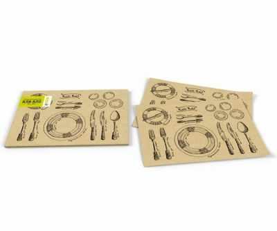 Антибуки Антибуки Салфетки для образцового ужина «Кли-Кло»