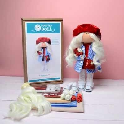 Набор для изготовления игрушки Pugovka Doll Набор Ирина, 25 см